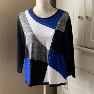 • NWT Alfred Dunner sweater, S •